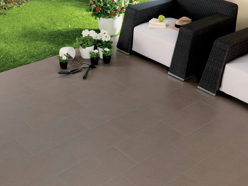 Porcelain stoneware wall/floor tiles with stone effect MOON - NOVOCERAM