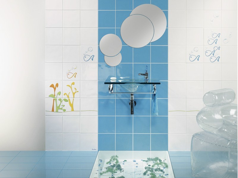 Glazed stoneware wall tiles A BOLHINHAS - Revigrés