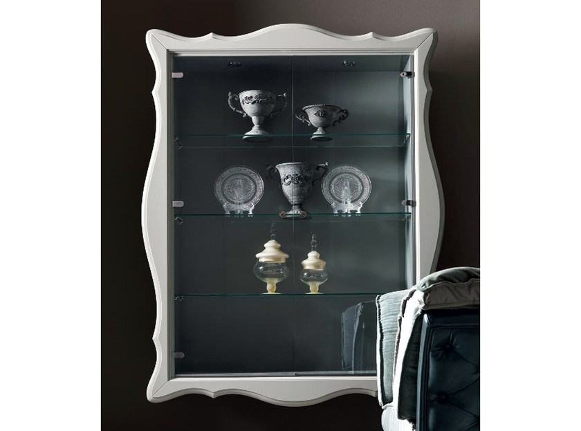 Slate display cabinet ALICE | Display cabinet - CorteZari
