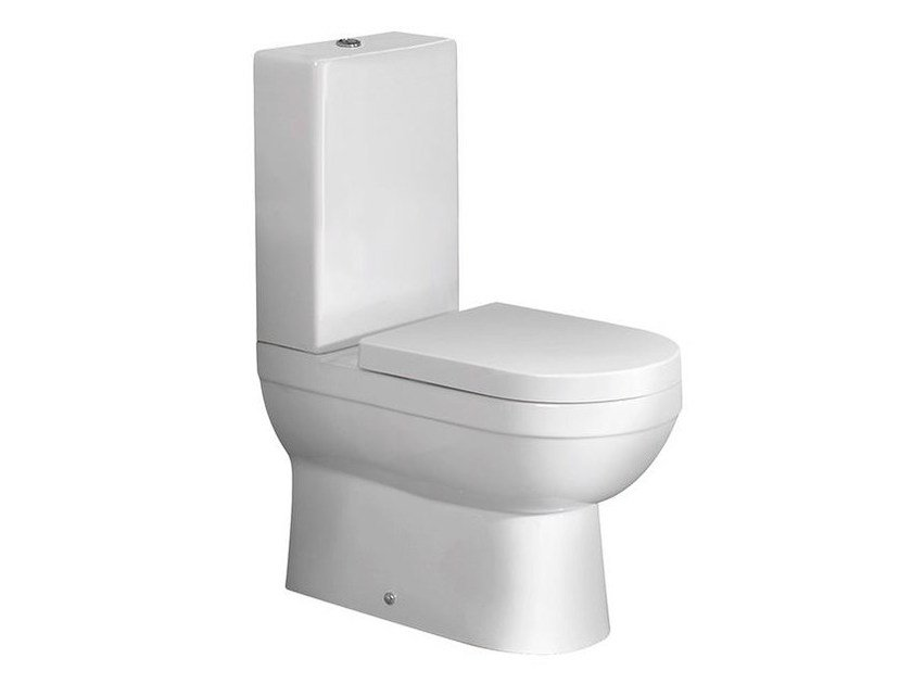 Close coupled toilet NK COMPACT | Close coupled toilet - NOKEN DESIGN