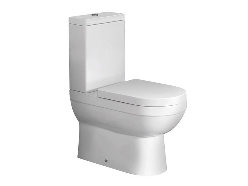Close coupled toilet with bidet NK COMPACT | Toilet with bidet - NOKEN DESIGN