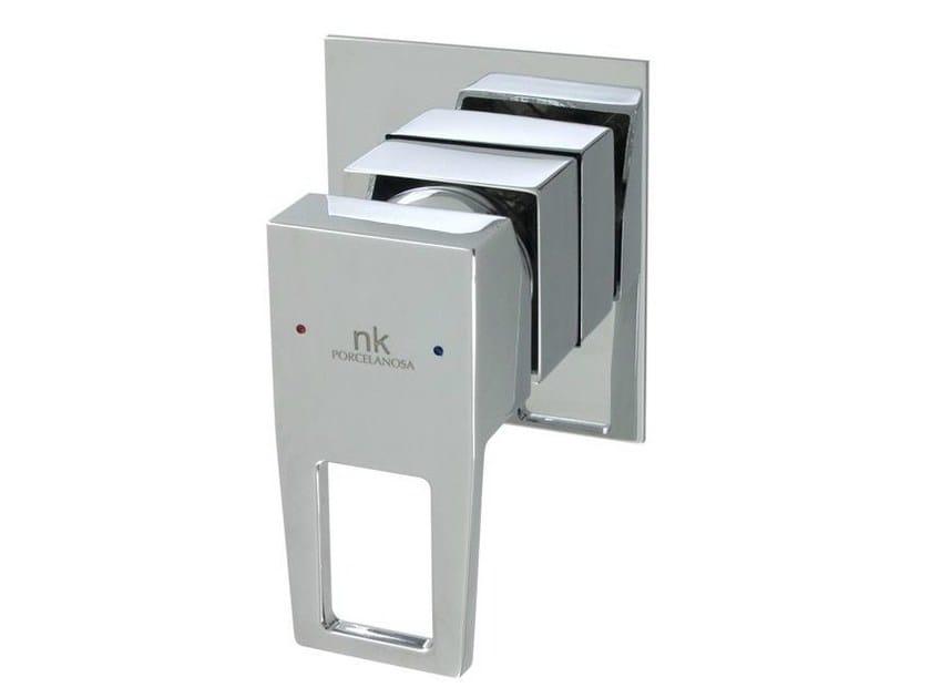 Chrome-plated 1 hole shower mixer ACRO-N OPEN | Shower mixer - NOKEN DESIGN