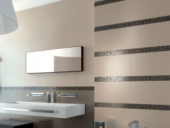 Red-paste wall tiles with concrete effect ESPRIT - NOVOCERAM