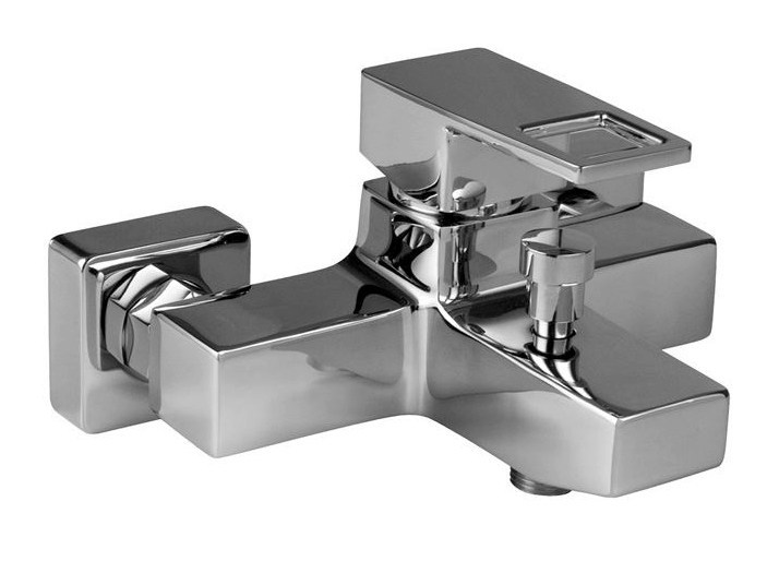 2 hole bathtub mixer with diverter ACRO-N OPEN | Bathtub mixer with diverter - NOKEN DESIGN