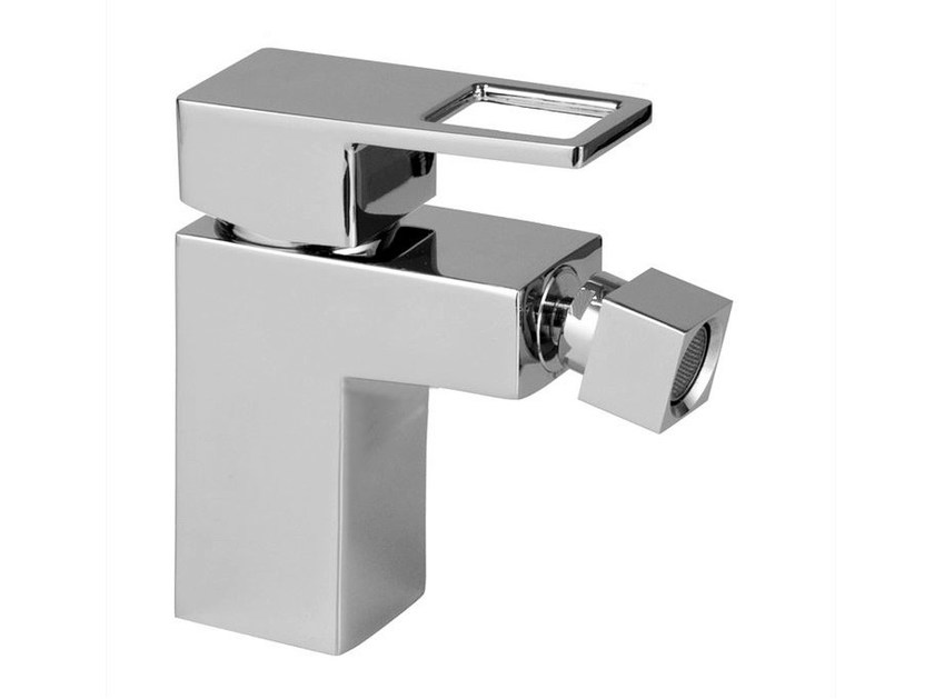 Bidet mixer with swivel spout ACRO-N OPEN | Bidet mixer - NOKEN DESIGN