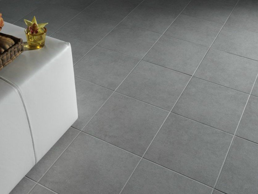Single-fired ceramic flooring with stone effect MÉTRO - NOVOCERAM