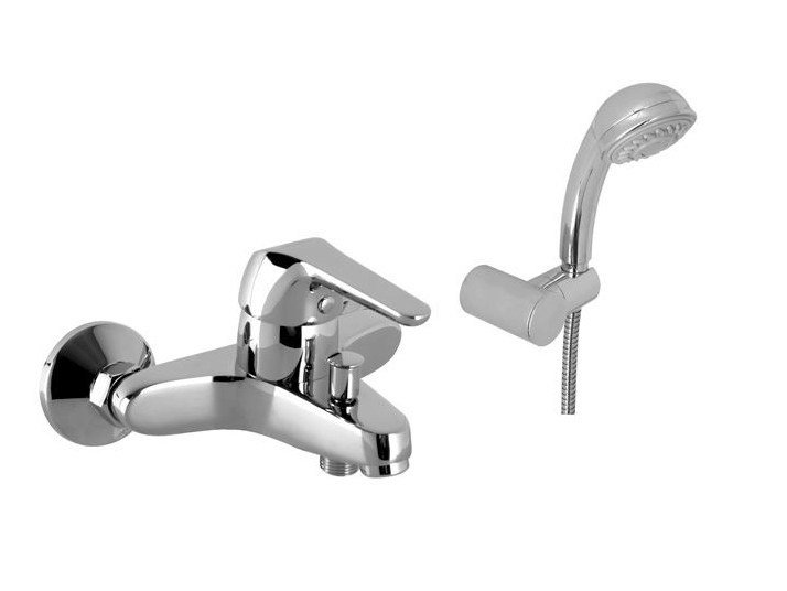 Bathtub mixer with hand shower MINI PLUS | Bathtub mixer with hand shower by NOKEN DESIGN