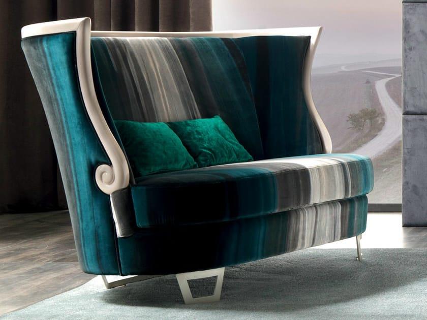 Fabric sofa GAUDÌ | Sofa by CorteZari