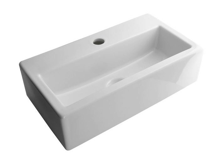 Rectangular wall-mounted washbasin ACRO | Rectangular washbasin - NOKEN DESIGN