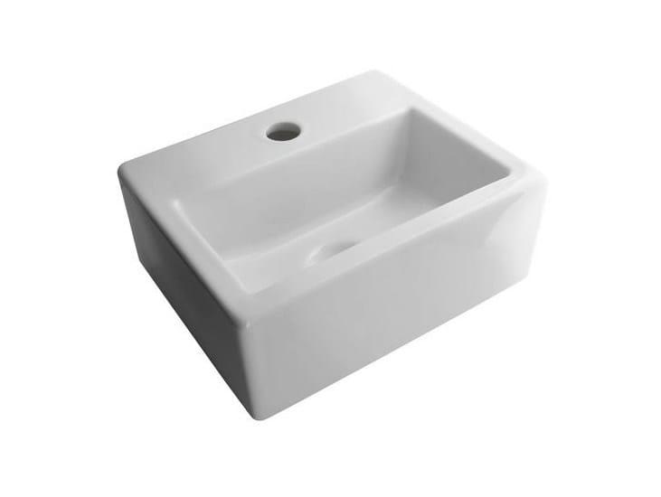 Rectangular single washbasin ACRO | Single washbasin - NOKEN DESIGN