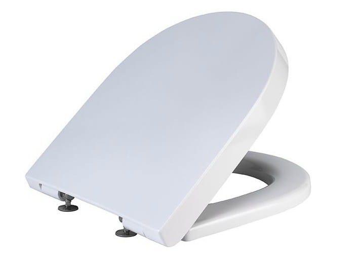 Toilet seat with soft close ACRO | Toilet seat - NOKEN DESIGN