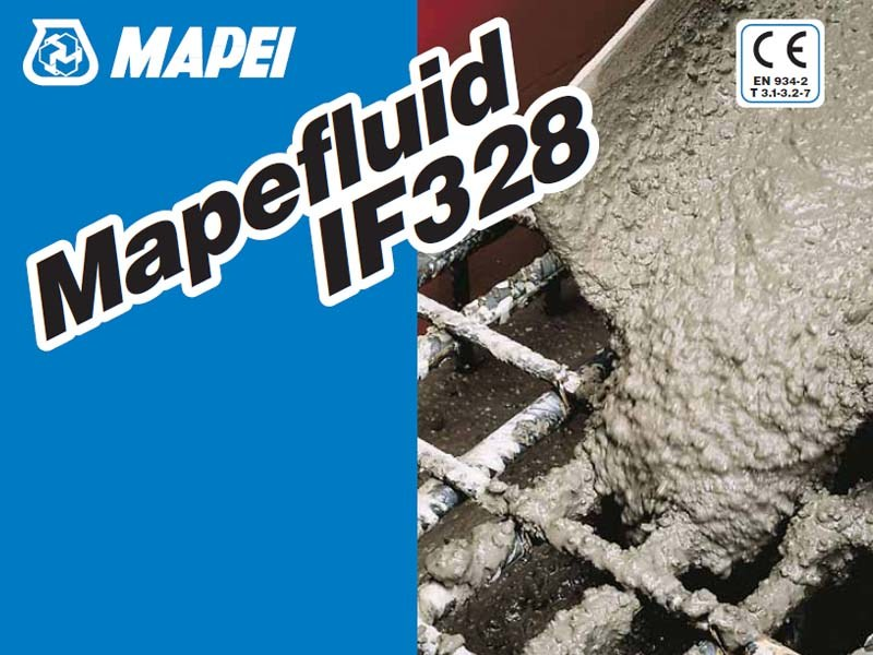 Additive for cement and concrete MAPEFLUID IF328 by MAPEI