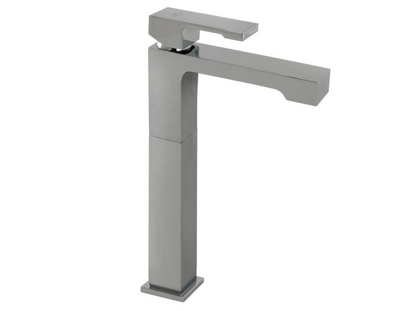 Chrome-plated washbasin mixer with aerator with flow limiter NK LOGIC | Washbasin mixer with aerator - NOKEN DESIGN