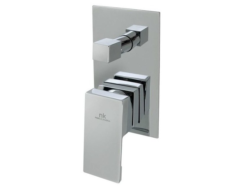 Chrome-plated shower tap with plate NK LOGIC | Shower tap - NOKEN DESIGN