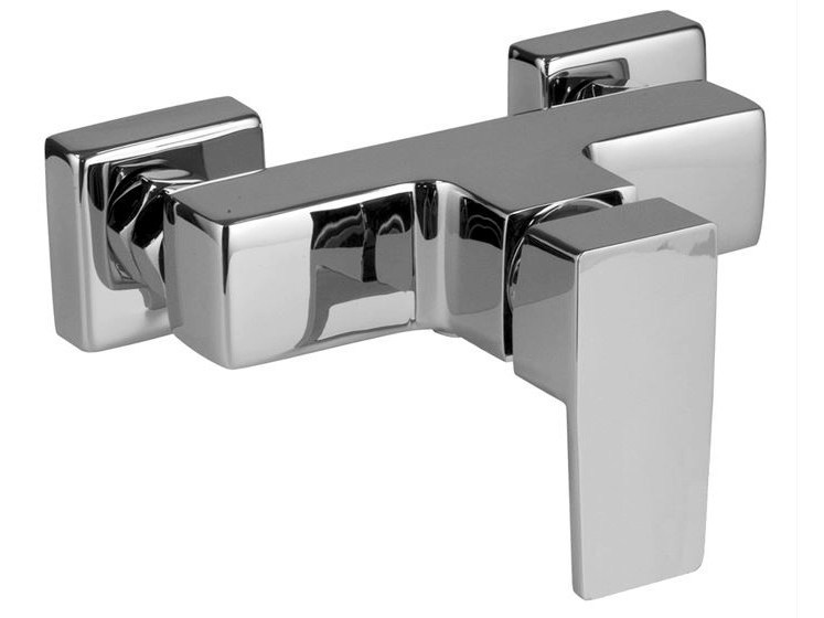 2 hole chrome-plated shower mixer ACRO-N | Shower mixer - NOKEN DESIGN