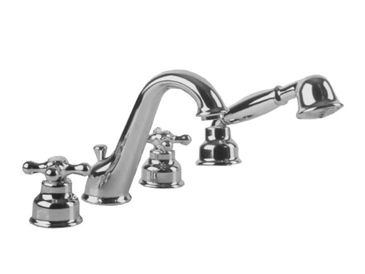 Bathtub set with aerator with diverter FEIS | Bathtub set - NOKEN DESIGN