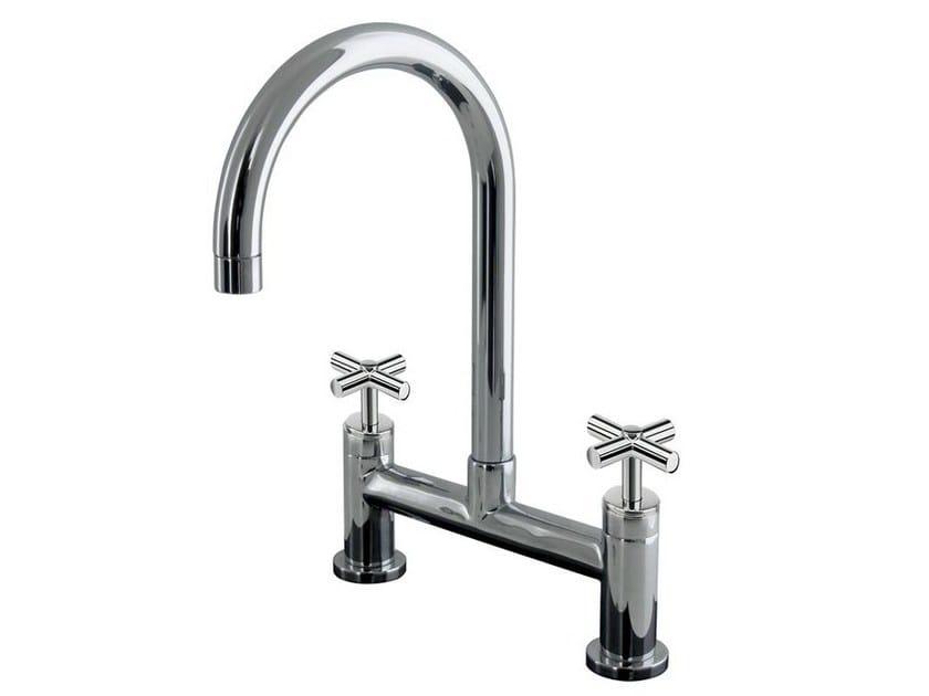 2 hole countertop kitchen tap FUTURE   Kitchen tap by Noken