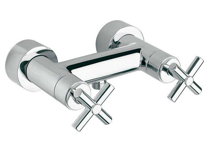 2 hole chrome-plated shower tap FUTURE | 2 hole shower tap by Noken