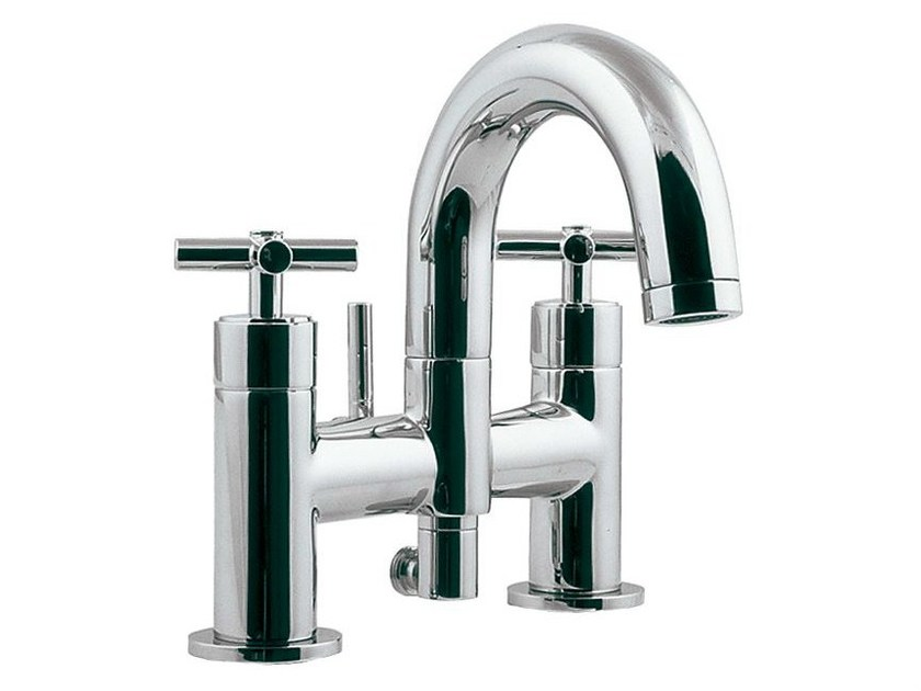 Bathtub tap with aerator with diverter FUTURE | Chrome-plated bathtub tap - NOKEN DESIGN