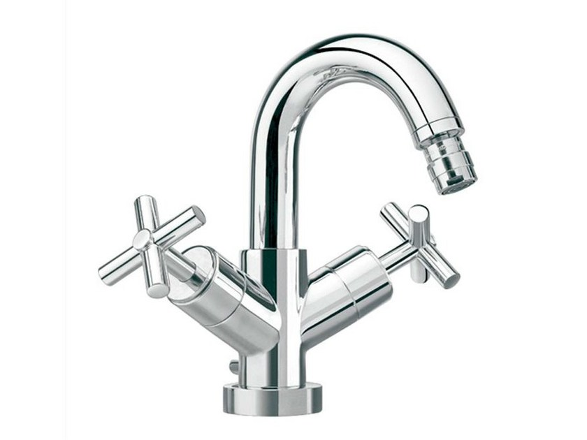 Bridge chrome-plated bidet tap FUTURE | Countertop bidet tap - NOKEN DESIGN