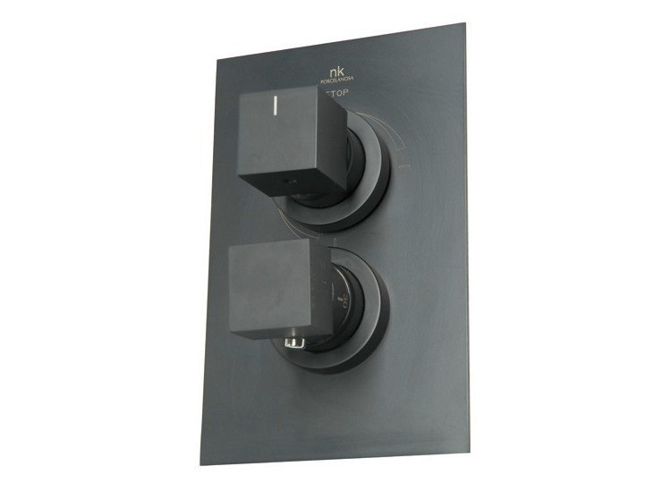 Thermostatic shower tap with plate IRTA | Shower tap with plate - NOKEN DESIGN