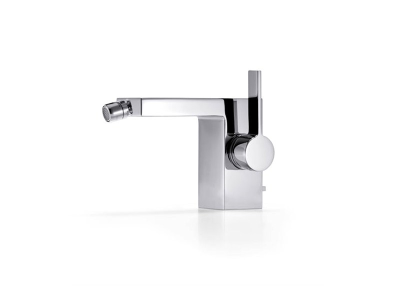 Chrome-plated single handle bidet mixer SYMETRICS - Dornbracht