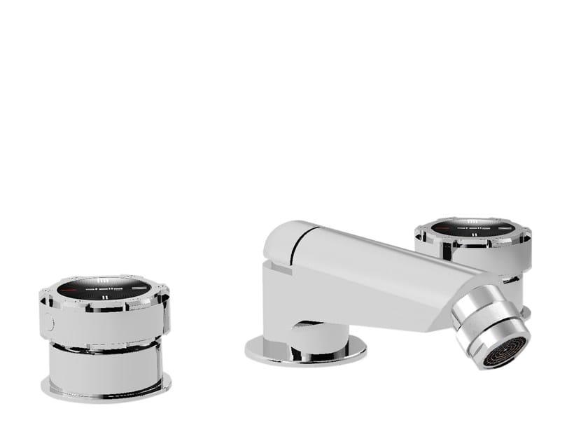 3 hole chromed brass bidet tap TIMEASTER 3601 - RUBINETTERIE STELLA