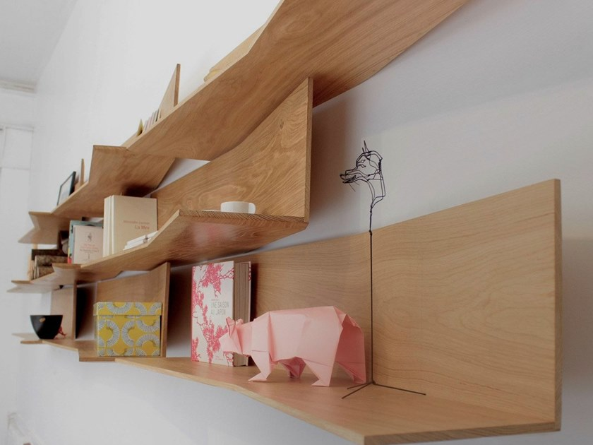Wall-mounted modular bookcase 11.2 - Compagnie