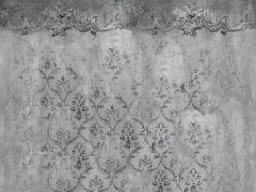 Carta da parati con motivi floreali per bagno evanescence for Carta da parati wall deco