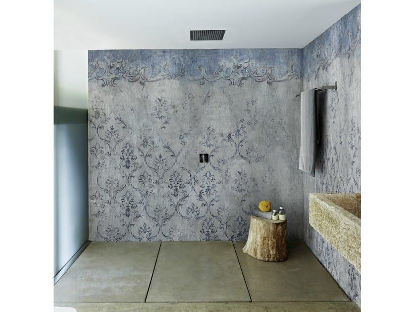Carta da parati con motivi floreali per bagno evanescence wall dec - Carta da parati per bagno ...
