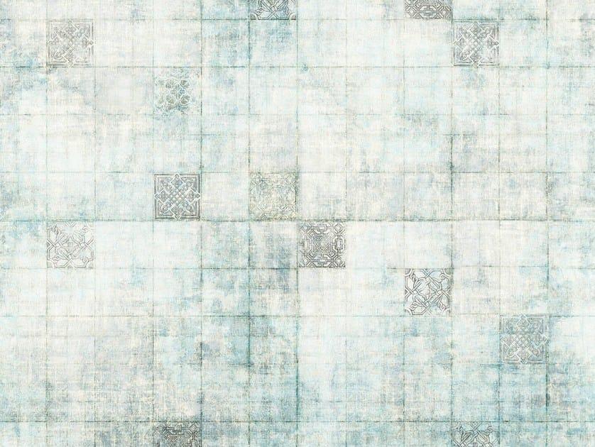 Bathroom wallpaper BLOCK TALES by Wall&decò