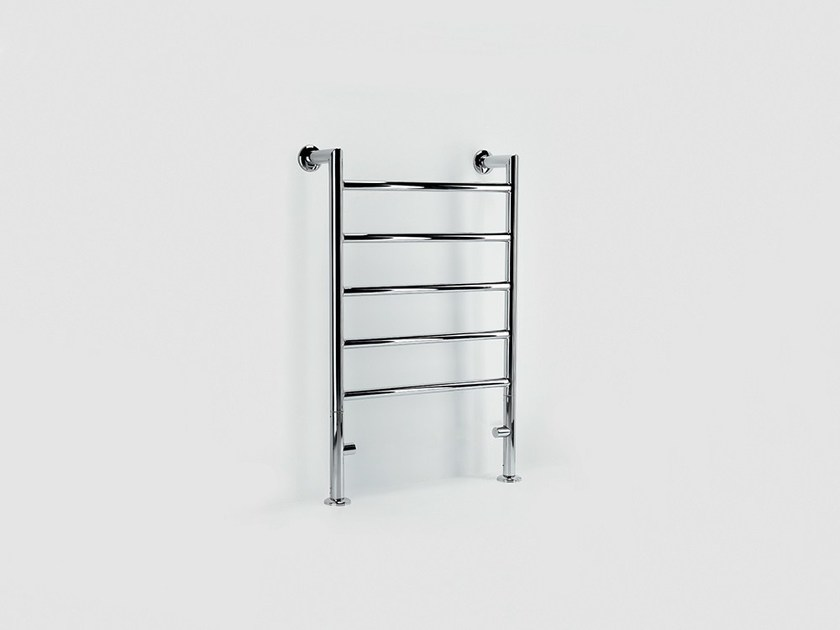 Hot-water metal towel warmer FLOOR REMIND - FOURSTEEL