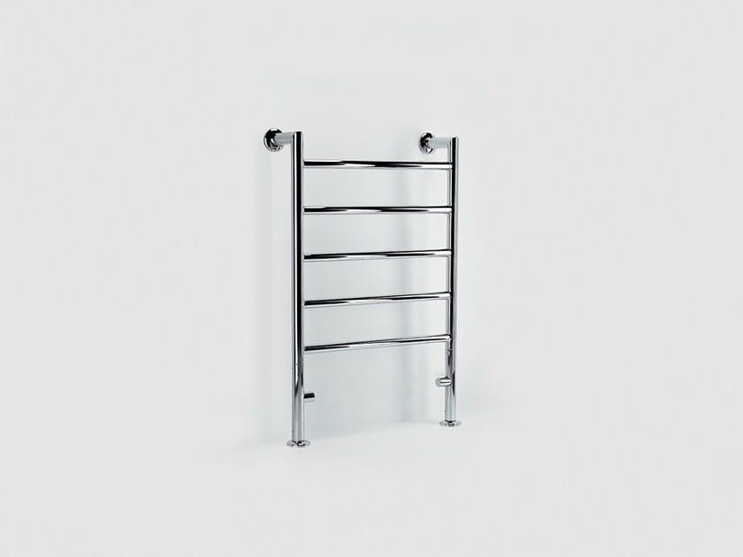 Hot-water metal towel warmer FLOOR REMIND by FOURSTEEL