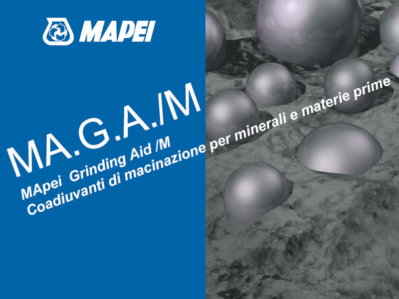 Additive for cement and concrete MA.G.A./M by MAPEI