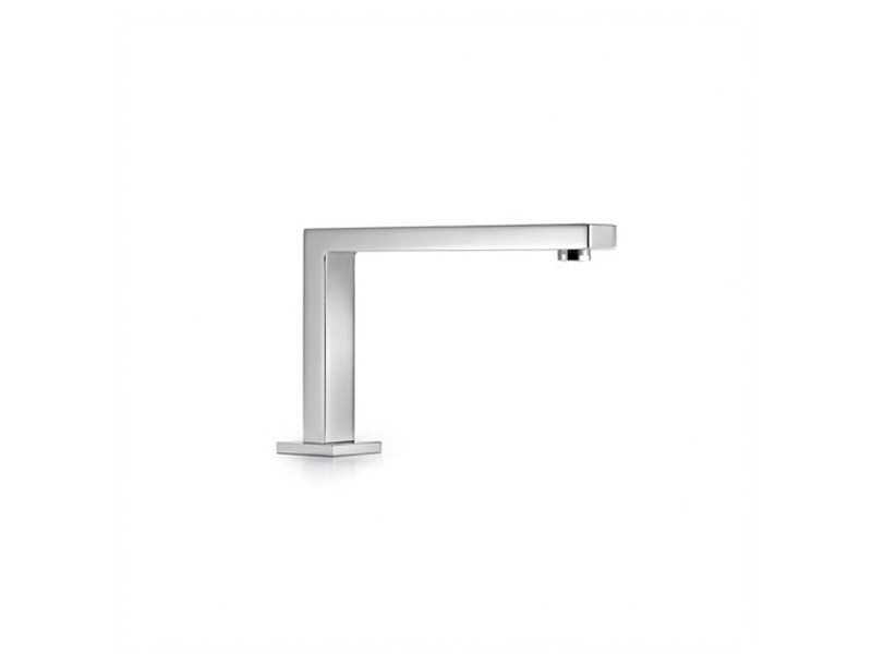 Chrome-plated bathtub spout SYMETRICS - Dornbracht