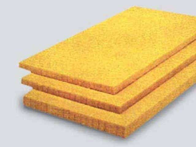 Glass wool Sound insulation and sound absorbing panel in mineral fibre URSA REFIX - URSA Italia