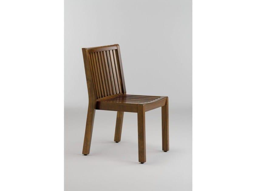 Wooden garden chair SERIE AIRONE | Chair - Legnolandia