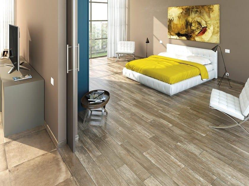 Anti-slip flooring with wood effect AMARCORD | Flooring with wood effect - Ceramica Rondine