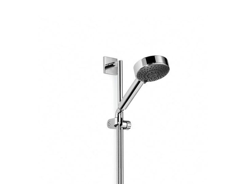 Handshower with hose with shower wallbar SYMETRICS - Dornbracht