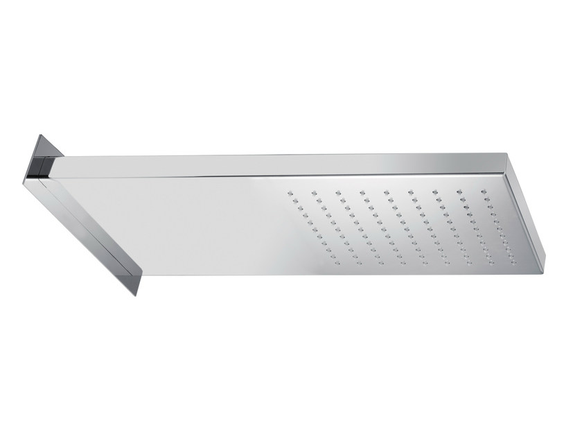 Wall-mounted stainless steel rain shower SR0-02 | Overhead shower - Rubinetterie Mariani