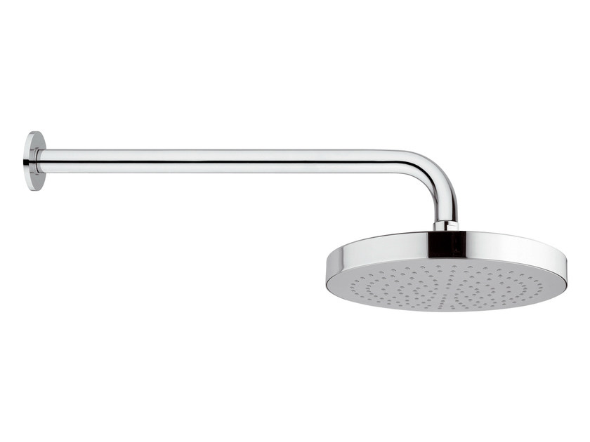 Wall-mounted chrome-plated brass overhead shower with arm 15T-01 | Overhead shower - Rubinetterie Mariani