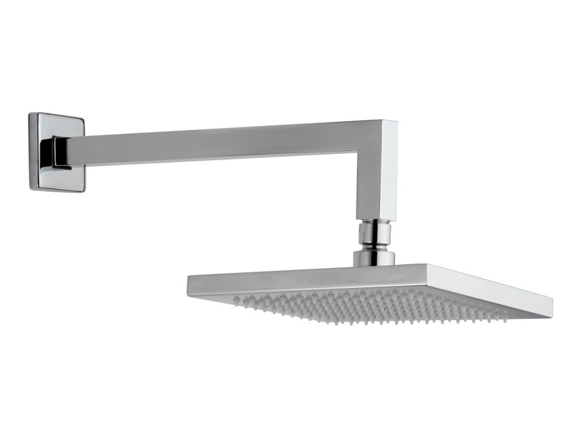 Wall-mounted brass overhead shower with arm 15Q-06 | Overhead shower - Rubinetterie Mariani