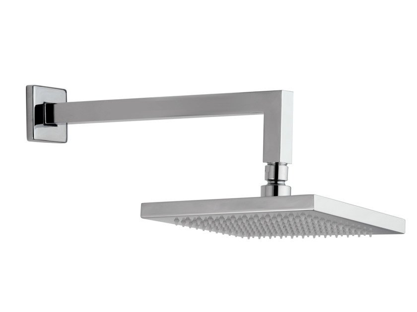 Wall-mounted chrome-plated overhead shower with arm 153-MA | Overhead shower - Rubinetterie Mariani