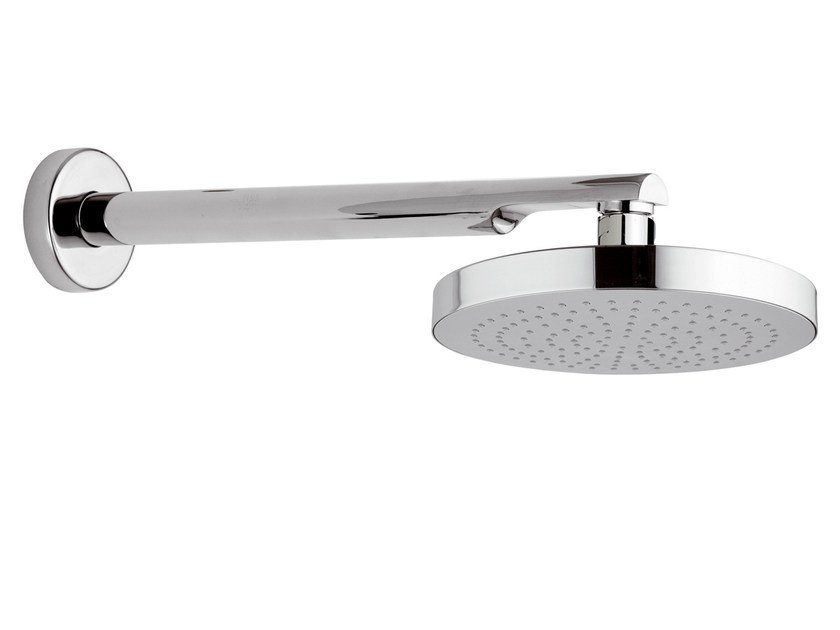 Wall-mounted chrome-plated brass overhead shower 15B-NO | Overhead shower - Rubinetterie Mariani