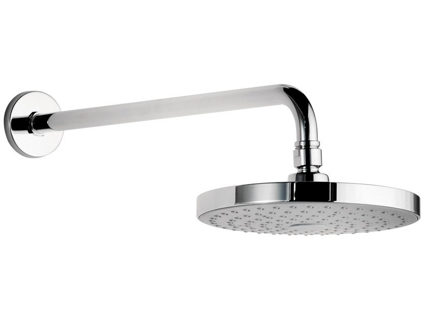 Wall-mounted brass overhead shower with arm 153-RO | Overhead shower - Rubinetterie Mariani