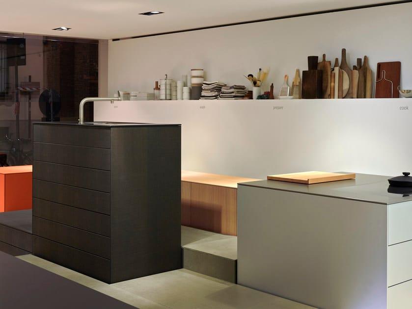 Modulo cucina freestanding senza maniglie b3 modulo - Cucina senza maniglie ...