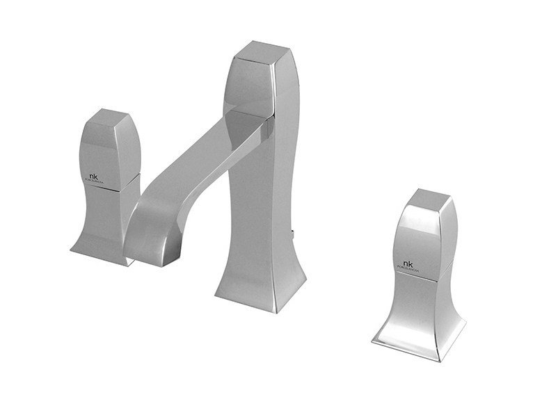 3 hole washbasin tap with flow limiter DUNE | Washbasin tap - NOKEN DESIGN