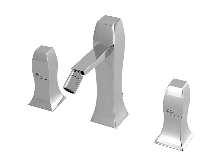 Bidet tap with swivel spout with flow limiter DUNE | Bidet tap - NOKEN DESIGN