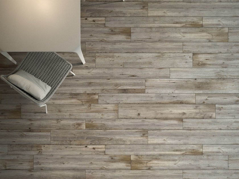 Porcelain stoneware flooring with wood effect HIGH TECH WOODS | Quercia Petraea - ARIOSTEA