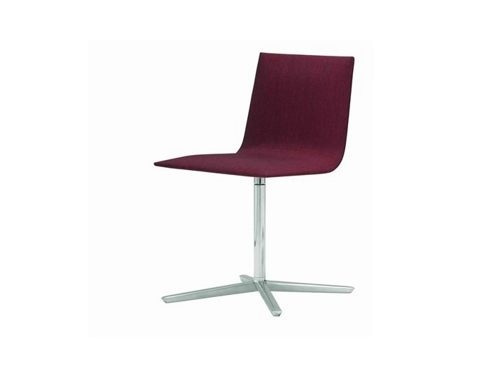Upholstered chair with 4-spoke base LINEAL CORPORATE | Chair with 4-spoke base - Andreu World